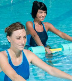 Top 10 Exercises to get fit in Water. Water aerobics routine!