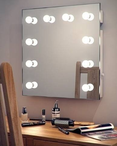 1000 ideas about hollywood mirror on pinterest lighted vanity mirror dressing table mirror. Black Bedroom Furniture Sets. Home Design Ideas