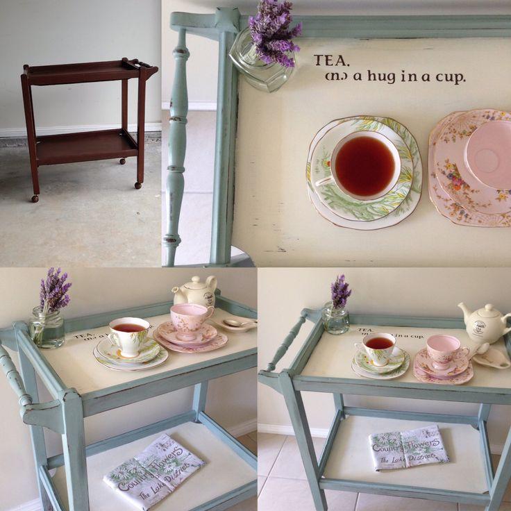 Tea trolley make over. @anniesloan