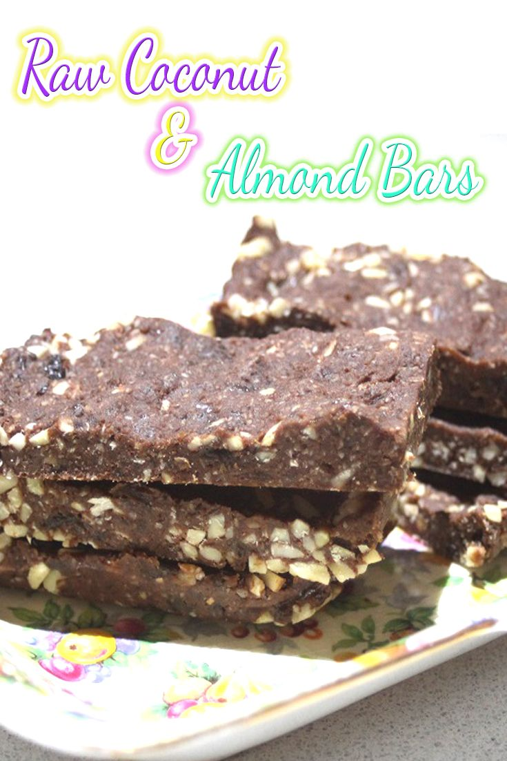 An amazing raw bar that will knock your socks off!   It's sticky and chewy and a great little guilt free snack.
