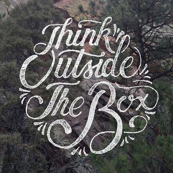 Piensa afuera de la caja