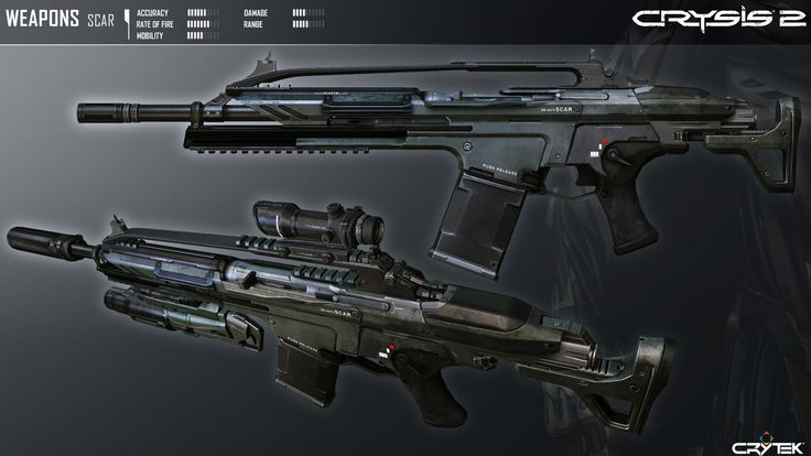 CRYSIS 2 - Weapons