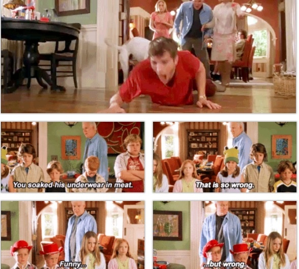 Cheaper by the Dozen... I love this movie because I can relate !