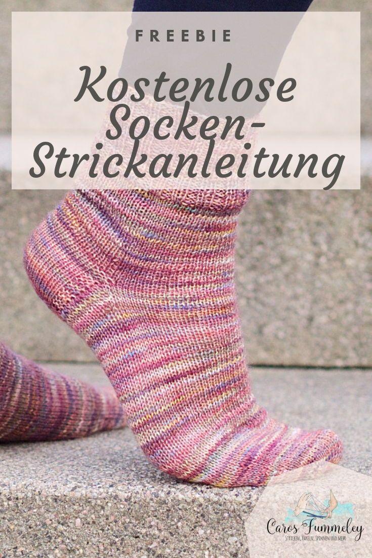 Stino Socken Stricken Kostenlose Anleitung Caros Fummeley Socken Stricken Anleitung Socken Stricken Anfanger Socken Stricken