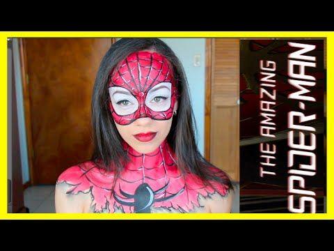 Spider-Man es uno de mis superhéroes favoritos, asi que tenía que hacer un tutorial inspirado en este personaje. No te pierdas todos mis vídeos de Halloween!...