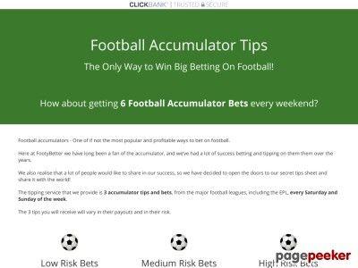 Winning Football Accumulator Tips