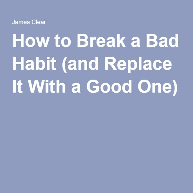 Order essay online cheap bad habits and how to break them