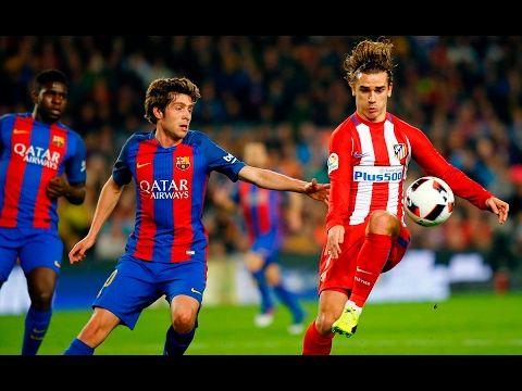 Барселона – Атлетико 1:1. Обзор матча 07.02.2017