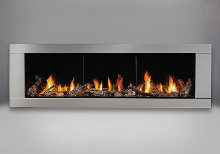 Gas Fireplaces Porcelain And Stainless Steel On Pinterest