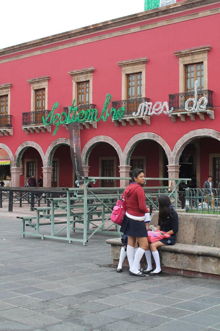 En León Guanajuato, el mes de septiembre