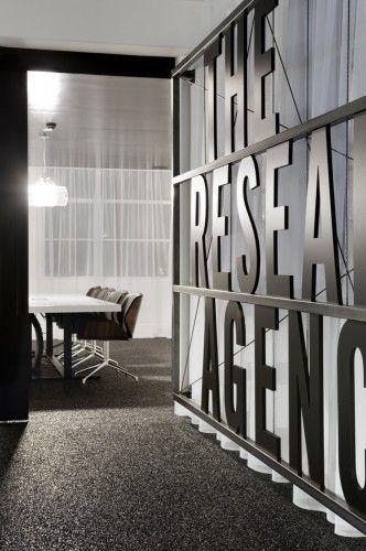 Typography in interiors
