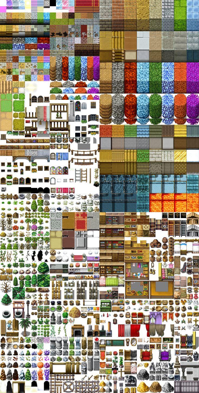 17 best images about game tilesets on pinterest 2d for 3d art maker online