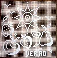 """Da revista """"Croché arte e tradição"""", quadros com as quatro estações do ano.                manela"""