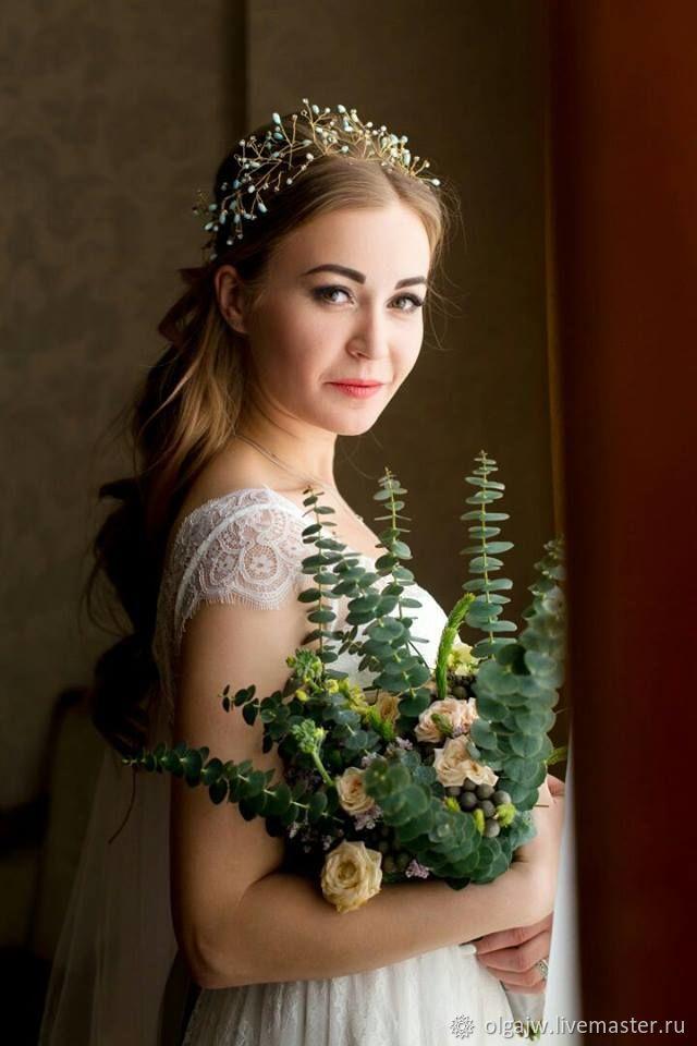 Корона Эльфийской принцессы – купить в интернет-магазине на Ярмарке Мастеров с доставкой - E1AW3RU