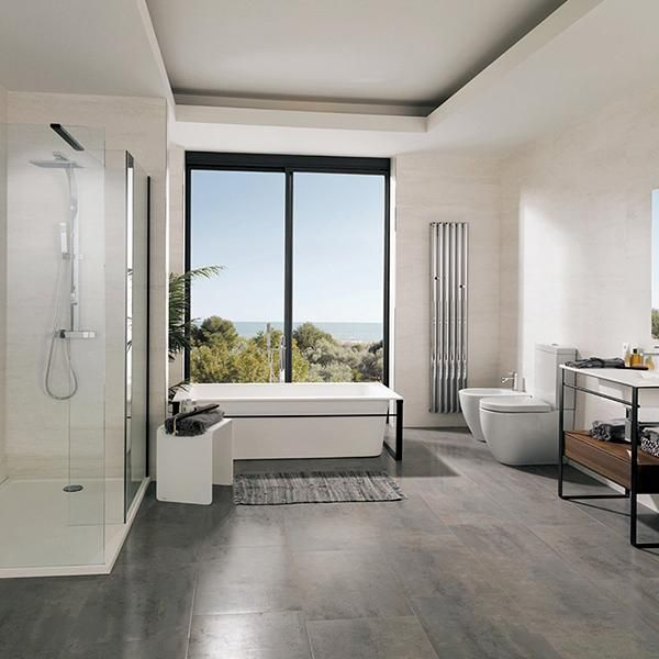 Ferroker Aluminio Wall Floor Bathroom And Living Room Tiles By Porcelanosa Living Room Tiles Wall And Floor Tiles Room Tiles