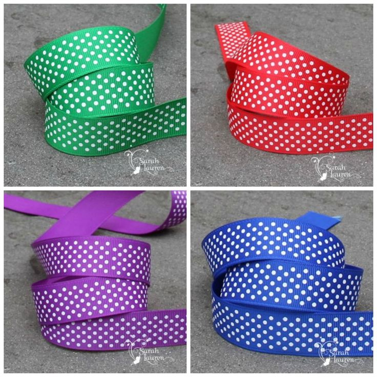 Do you need Swiss Dots grosgrain ribbon for your craft project? Buy it HERE. * Ribbon Online * Wholesale Ribbon Online * Printed Ribbon Online * E6000 Glue