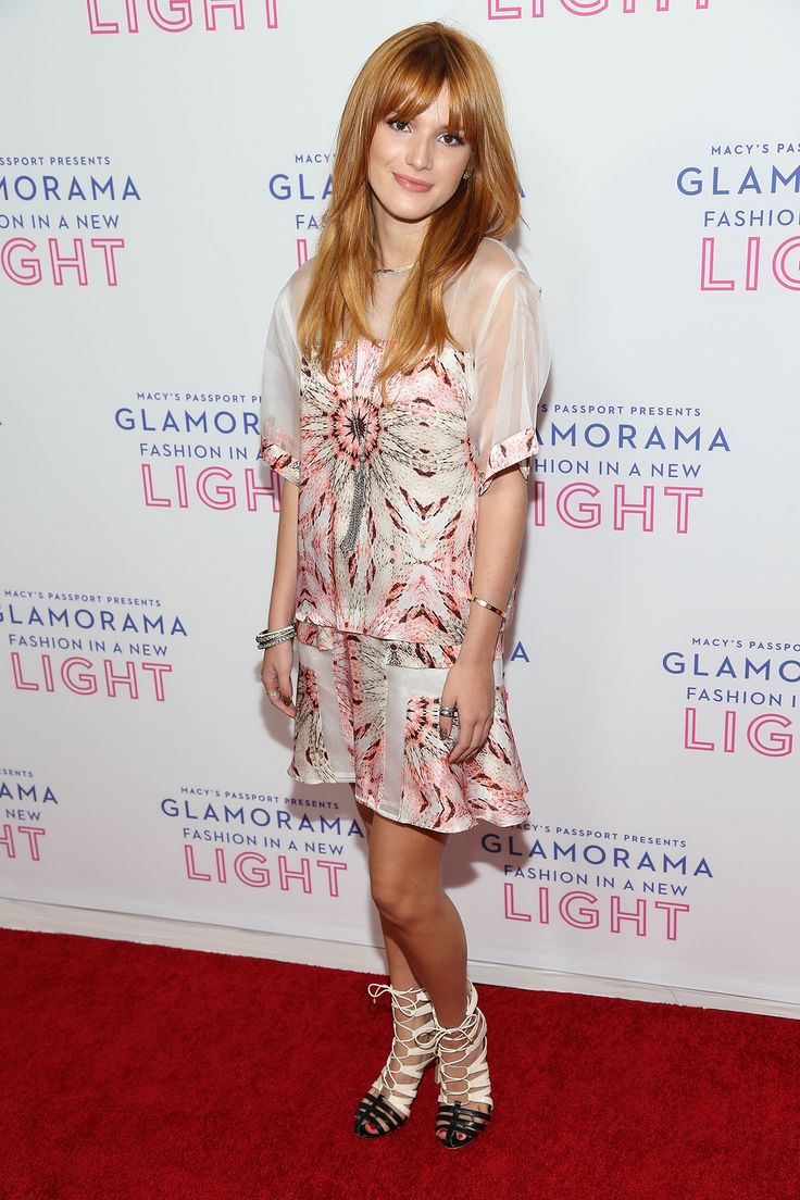 It up bella thorne sports a grown up look in elegant peplum dress - Glamorama For Macy S Passport Bella Thorne Style Lookbook Modamob Fashion And Style Lookbooks