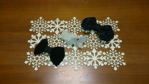 hair ribbons for winter