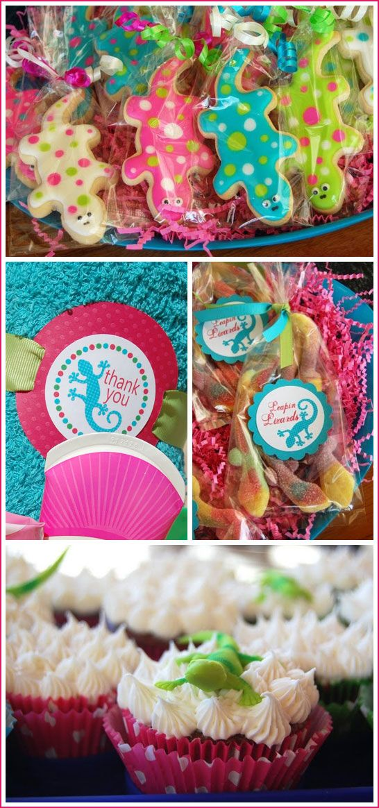 7 best images about gecko party on pinterest salamanders treat leapin lizards party pronofoot35fo Choice Image