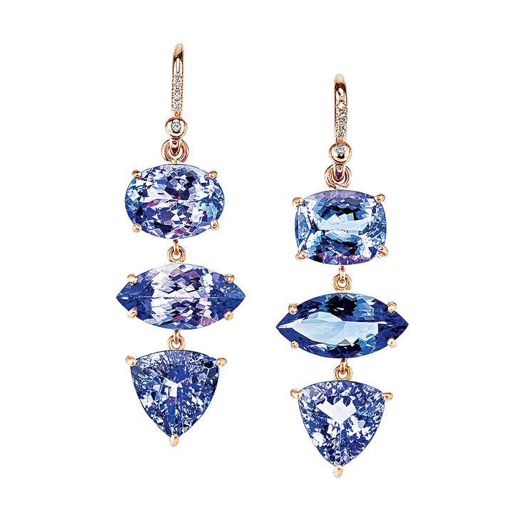 Irene Neuwirth Tanzanite Earrings