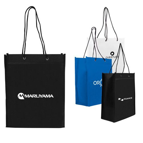Custom Logo Imprinted Nonwoven Gift Totes are perfect to use for gifts, take-aways and goodie bags during various occasions. Try Now!   #EcoFriendlyBags #FreeShip #Promotion