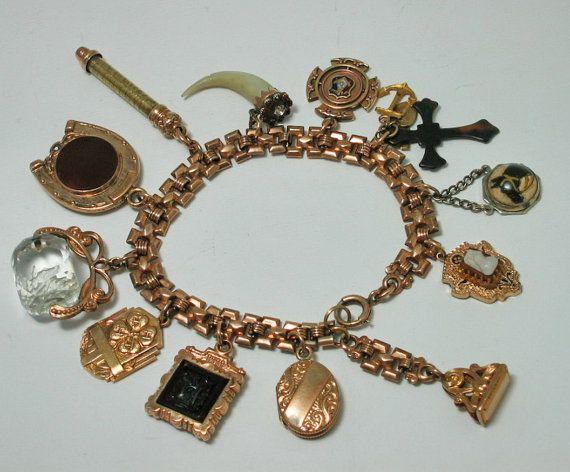 Excellent 107 best Victorian Charm Bracelet images on Pinterest | Charm  MR28