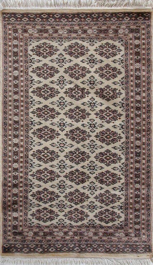 Handmade Woolen-Silk Carpet KARACHI 0,93 x 1,46 cm | ioakeimidis