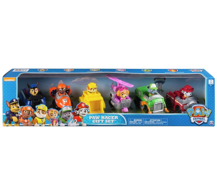 Buy PAW Patrol Racers Gift Set - 6 Pack at Argos.co.uk, visit Argos.co.uk to shop online for Action figures and playsets, Toys