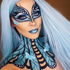 "1,160 Likes, 23 Comments - Emmy (@underratedmuas) on Instagram: ""@jadedeacon this butterfly makeup is amazing! #underratedmuas ⚠️ Tag A Friend Below ⬇️ For Your…"""