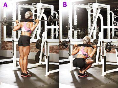 Rockin' Leg Routine - Get sleek, strong, and seriously shapely legs with a killer workout.