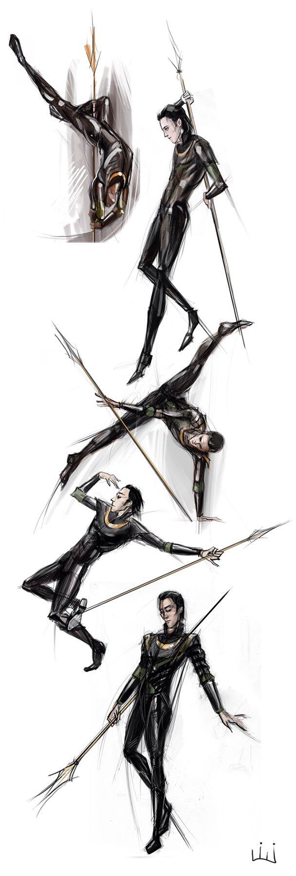 Loki pole dancing oh I wish