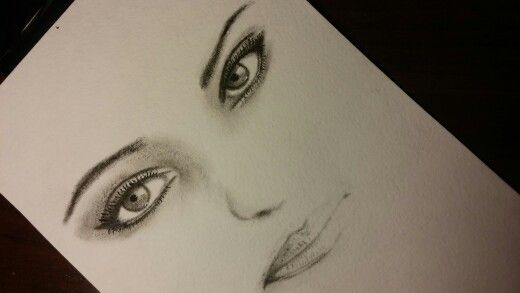 #drawing #drybrush #face