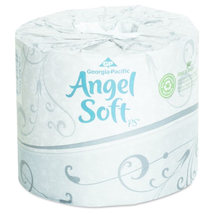 Georgia Pacific Professional Angel Soft ps Premium Bathroom Tissue, 450 Sheets/Roll, 40 Rolls/Carton