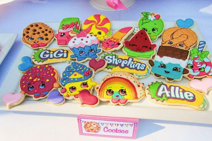 Little Wish Parties | Shopkins Themed Birthday Party | https://littlewishparties.com