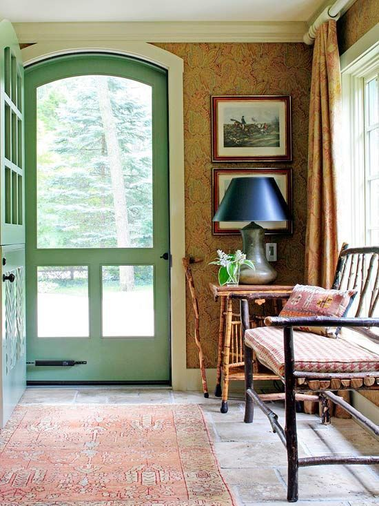 Six Unexpected Ways to Create a Cozy Entry - The Inspired Room