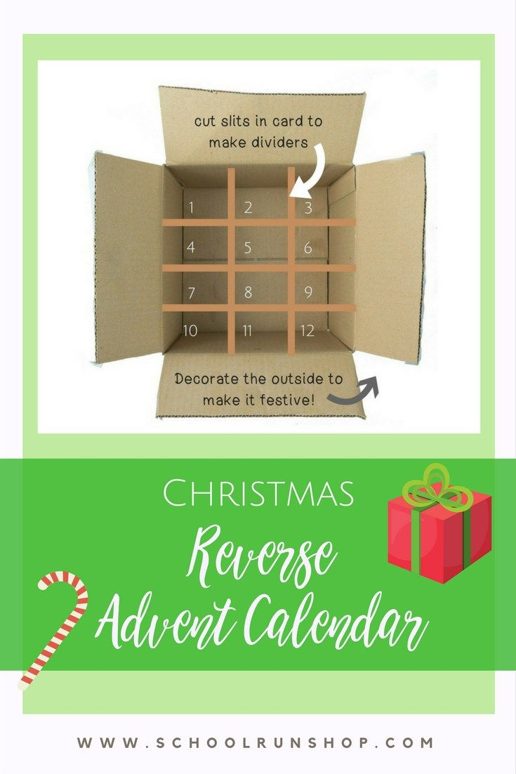 Reverse Advent Calendar Ideas : The best reverse advent calendar ideas on pinterest
