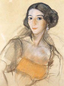 Francesco SESSA: Zinaida SEREBRYAKOVA, pittrice russa vissuta in Francia