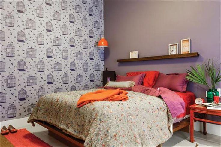 Paso a paso: cómo empapelar las paredes de tu casa Un empapelado puede ayudarte a enmarcar, decorar y darle vida a un espacio. / Archivo LIVING