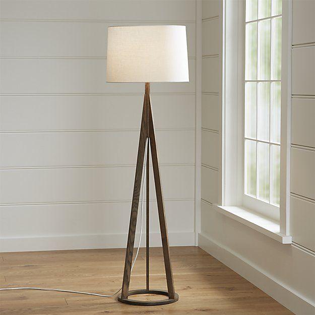Jackson Dark Brown Tripod Floor Lamp Brown Floor Lamps White Floor Lamp Floor Lamp