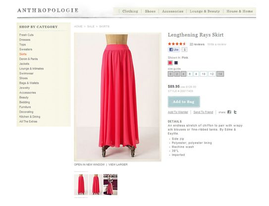 Kiki's List: Fashion Friday: DIY Maxi Skirt.
