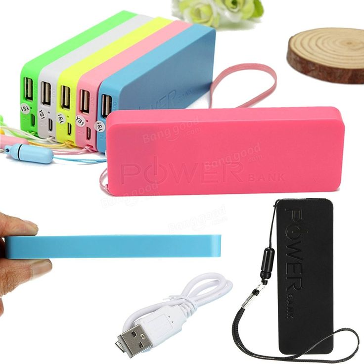 Ultrathin 5600mAh External Portable Power Bank USB Battery Charger For iPhone Samsung HUAWEI