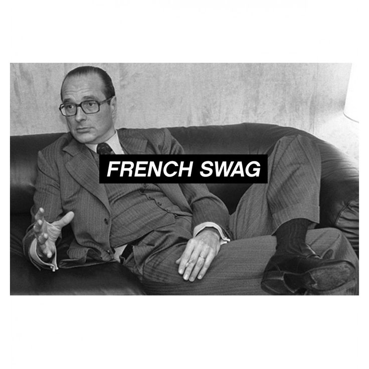 Jacques Chirac. #modeetpolitique