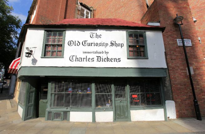 Old Curiosity Shop (13-14 Portsmouth Street) (15 Must-See Literary Sights in London | Fodors)