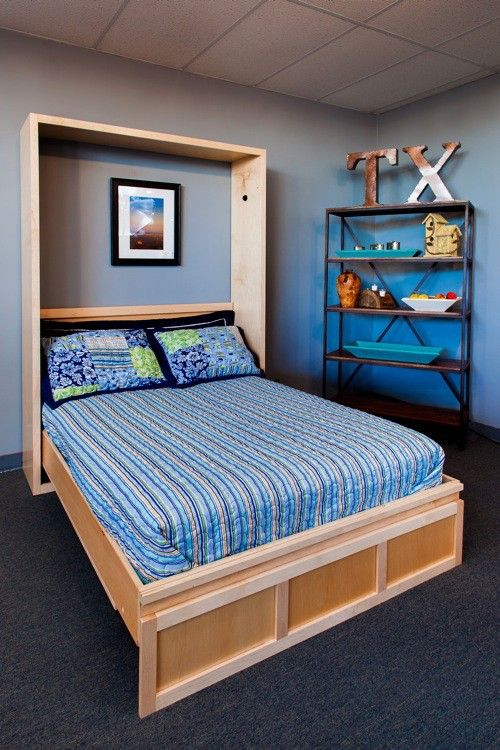 Best The Fitr Contempo Murphy Bed Made In Texas Of Real Wood 400 x 300