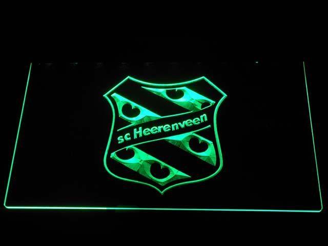 b1015 SC Heerenveen Eredivisie Football LED Neon Sign