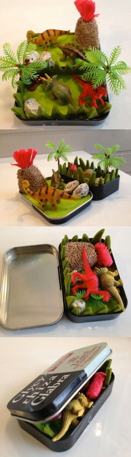 DINOS (ART) ATTACK: mini dinos play set
