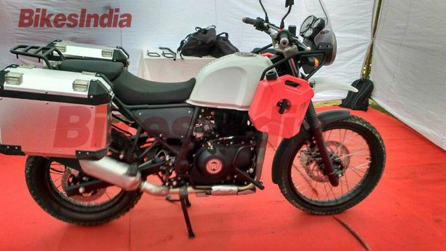 [Exclusive] Royal Enfield Himalayan First Ride Impression » BikesIndia.org
