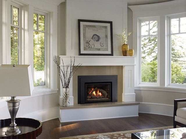 marvelous gas pin fireplace room living pinterest corner insert