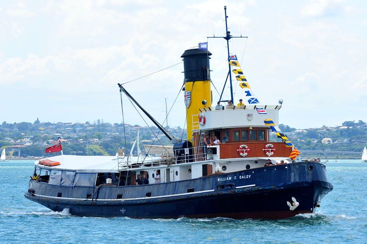 Full steam ahead with the historic steam tug William C. Daldy