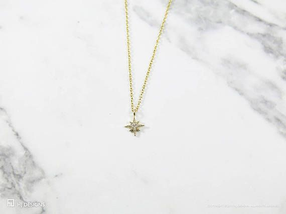 Simple, delicate, and stunning! This 16k gold plated cubic zirconia star Joy necklace has a chic appeal thats just in time for the holidays. Perfect dainty necklace for yourself or to give as a gift. A great present for kids, friends, and family!  PLEASE READ BEFORE PURCHASING. THANK YOU!